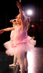 Kindergarteners performing ballet in El Cerrito